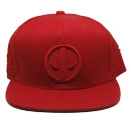 Film deadpool Baseball Hat Boys Girls Hip Hop Adjustable Canvas Snapback Caps  Cosplay Accessories Gift ef2f04d055be