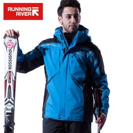 $enCountryForm.capitalKeyWord Australia - RUNNING RIVER Brand Men Winter Ski Jacket S-XXXL Size Windproof Sports Jackets For Men Snow Winter Outdoor Jacket #A4038