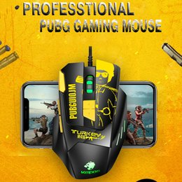 game keys wholesale Australia - M416 Wired Mouse Gaming Mouse 8 Keys Ergonomic Design 6Gears 4800DPI RGB Backlit Optical Mice for PC Laptop Game PUBG #3 L0402