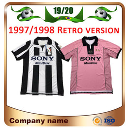 b658957bdf9 Zidane shirts online shopping - 97 Retro version RONALDO Soccer Jersey DEL  PIERO INZAGHI ZIDANE DAVIDS