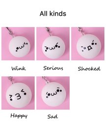 $enCountryForm.capitalKeyWord Australia - Small and cute Cartoon expression pendant Soft mobile phone pendant Backpack pendantmobile phone's accessories with string