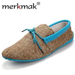 Discount men mocassins shoes - hot sale men shoes spring summer breathable fashion weaving Woven men casual flat shoes lace-up loafers comfortable moca