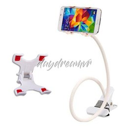 $enCountryForm.capitalKeyWord Australia - 360 Degree Roating Flexible Phone Holder Stand For Mobile Long Arm Holder Bracket Support For Bed Desktop Tablet colorful for iphone xiaomi