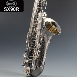 Silver tenor Saxophone online shopping - Germany JK SX90R Keilwerth copy Tenor saxophone Nickel silver alloy tenor Sax Top professional Musical instrument With Case