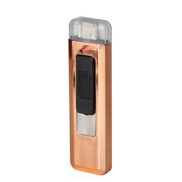 $enCountryForm.capitalKeyWord UK - New Mini Colorful Plastic USB Cyclic Charging Lighter Windproof Portable Innovative Design For Cigarette Bong Smoking Pipe DHL Free