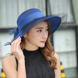 5ce0add746494 Korean version of the hat female summer sun visor cover face anti-UV sun hat  big along the bicycle mesh pearl flower hat