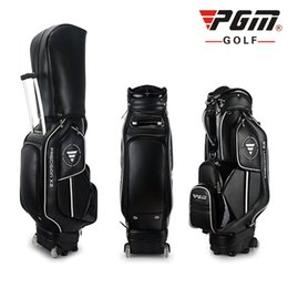$enCountryForm.capitalKeyWord Australia - PGM Golf Set Standard Bag Mens Womens Trolley Bag Waterproof PU Tugball Club Pack Can Accommodate 14 Clubs Portable Easy To Play