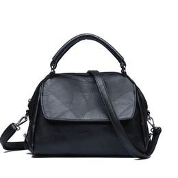 80dd3a0153 High Quality Oil Wax Leather Handbag Female New Fashion Personality Retro  Atmosphere Shoulder Bag Casual Wild Messenger Bag