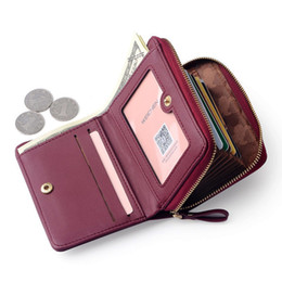 Red Credit Card Wallet NZ - good quality Large Capacity Women Card Wallet Zipper Concertine Fold Credit Card Holder Extendable Id Cards Purse Ladies Female Bags