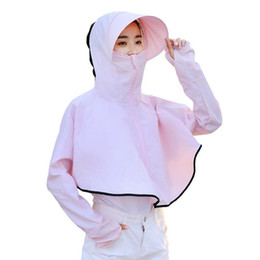 $enCountryForm.capitalKeyWord Australia - Breathable UV Sun Protection Sports Shirt Beach Hat For Mountaineering Camping Travel Riding Hiking Outdoor Sport Performance