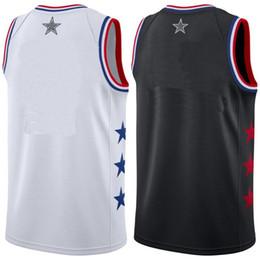 2019 all star jersey Michael 23 LeBron James Harden Irving Basketball Jerseys  Antetokounmpo EMBIID WADE Ross Durant Leonard Curry George 55d277b06