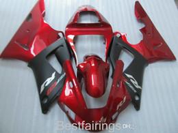 $enCountryForm.capitalKeyWord Australia - ZXMOTOR 7gifts fairing kit for YAMAHA R1 2000 2001 red black fairings YZF R1 00 01 HA14