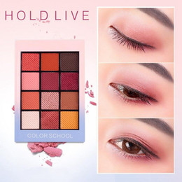 $enCountryForm.capitalKeyWord NZ - HOLD LIVE 12 Full Colors Matte Eye Shadow Palette Pigment Glitter Eyeshadow Palettes Nude Shadows Cosmetics Korean Makeup Eyes