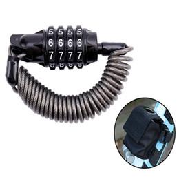 $enCountryForm.capitalKeyWord Australia - Bicycle Lock with Password Anti-theft Motorcycle Luggage Locks Multi-function Bicycle Accessories helmet lock MTB Bike Locks #349988
