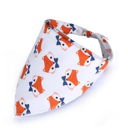 Toddler Cotton Scarves Australia - Baby Bibs NEW Style Bandana Black Triangle Bib for Girls Boys Toddler Infant Feeding Cotton Saliva Towel Scarf Baberos