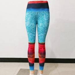 design yoga pants 2019 - Original Design Printed Fitness Leggings High Waist Women Yoga Pant Slim Sport Leggings Female Workout Pants Yoga Runnin