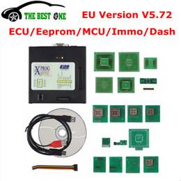 Programmer adaPter free shiPPing online shopping - 2018 EU Version Xprog V5 EEPROM IMMO DASH ECU Programmer Full Adapters X PROG M Box V5 XPROG M V5