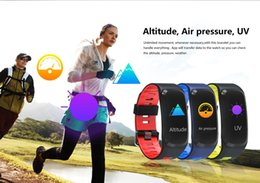 ups trackers NZ - Smart wristband F4 Support Blood pressure Blood oxygen heart rate Air pressure, Altimeter Auto-wake up Fitness smart Wristbands