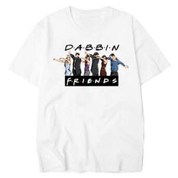 5c7298d0a4 good quality Best Friend Tv Mens Tshirt Summer Dabbin Funny T-shirt Men  Cotton Short Sleeve White T Shirt All-match O-neck Tee Shirt