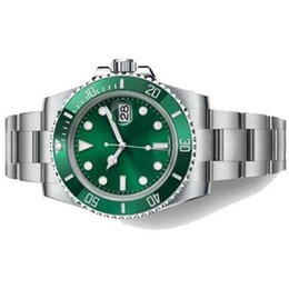 $enCountryForm.capitalKeyWord Australia - Free Shipping Automatic Mechanical Men Wristwatches Sapphire 40mm Ceramic Bezel Green Dial Mens Watch With Luminous Dot Hour Markers