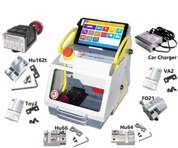 $enCountryForm.capitalKeyWord Australia - High Quality SEC E9 Auto Locksmith Tool CNC automatic key cutting Machine same as Miracle A9 Key Cutting Machine Multi-Lang