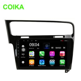 "$enCountryForm.capitalKeyWord Australia - COIKA 10.1"" Android 8.0 System Car Display Stereo For Volkswagen Golf 7 2013-2017 Car DVD Google GPS Navi Touch Screen BT WIFI SWC DVR RDS"