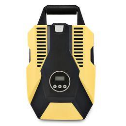 Discount lighter cables - 12V 120W 150PSI Digital Car Compressor Mini Electric Car Air Pump with Cigarette Lighter 2.8M Power Cable