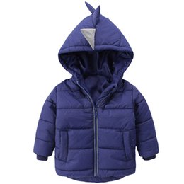 Boys Dinosaur Jacket Australia - Baby Boys Jacket 2018 Autumn Winter Jackets For Boys Dinosaur Coat Kids Warm Outerwear Coats For Girls Jacket Children Clothes