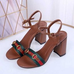 Genuine Leather Sexy Australia - 2019 summer new fashion women's sandals sexy and fashionable casual shoes genuine leather and high heels brand quality