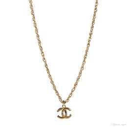89e903ae5 Double C letter Titanium Steel Necklace Womens Pendant banquet Style  Necklace Fashion Accessories Mother's Day Gifts Girlfriend Necklace