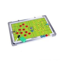 typing board UK - Aluminum Nostalgic host Nostalgic game player Alloy Magnetic Football Tactic Set Magnetic Coaching Training Board Tactical Tactic Soccer Foo