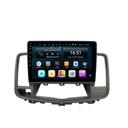 touch screen car radio navigation Australia - Android car radio with precise GPS navigation multi-touch screen lossless music excellent bluetooth for Nissan 2008-2012 10.1inch