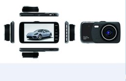 Dvr Channel Cameras Australia - Dual dash Cam 1080P HD Dual Channel Car DVR Front and Rear, Driving Video Recorder with 4.0 inches,G-Sensor,Motion Detect,WDR,Parking mode
