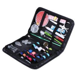 Stitch Cases NZ - travel Hot Selling 40pcs set Tool Set Crochet Hooks Needles Stitches Knitting Craft Case Travel Sewing Kit