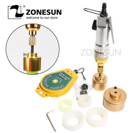 $enCountryForm.capitalKeyWord Australia - ZONESUN Upgrade Pneumatic bottle capping machine hand held screwing capper for platic bottle aircrew driver capper tools