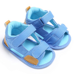 Baby Girl Summer Canvas Shoes Australia - 2019 Summer Baby Boys shoes Toddler Canvas Infant Kids Girl boys Soft Sole Crib Toddler Newborn Shoes