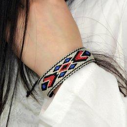 $enCountryForm.capitalKeyWord Australia - Special Touw Bracelets Original Handmade Jewellery Furnished Bracelet Geometric Figures '35; Ez214