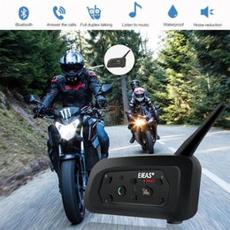 walkie talkies for motorcycle helmets Australia - Vehemo Full-Duplex Motorbike Helmet Walkie Talkie GPS Bluetooth Intercom Motorcycle Intercom Motor Ski Outdoor Sports for EJEAS