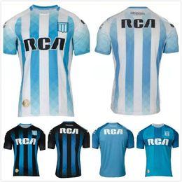 962109f21 2019 20 Racing Club soccer Jersey 19 20 away Dark blue Football uniforms  Fernandez Centurion R.CENTURION shirt
