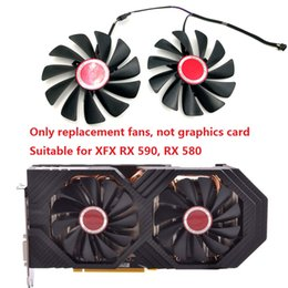 vga cooler fans NZ - 2pcs Set FirstDO FDC10U12S9-C Replacement VGA Card Cooling Fans for XFX Graphics RX570 RX580 RX560D