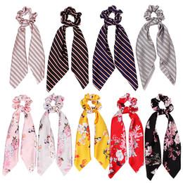 Vente en gros Vintage Satin Pontin Titulaire De La Fête Femme Femme Bur Band Cravate Scrunchie Caoutchouc Rope Headwear Party Accessoires TTA1501