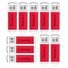 $enCountryForm.capitalKeyWord Canada - Bulk 10PCS USB 2.0 Flash Drives 4GB Memory Stick High Speed Thumb Pen Drive Storage Promotion Gifts Colorful for Computer Laptop Macbook