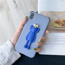 Iphone cute online shopping - Kaws D Silicone Phone Case Cartoon Rubber Milk Cute Case For Apple iPhone iPhone8 Plus S Plus X XR XS MAX Huawei P30pro Mate20