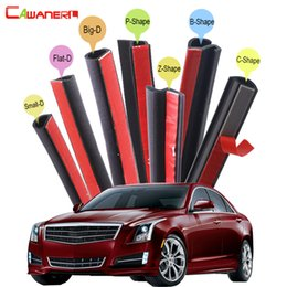 Sounds Kits Australia - Cawanerl Whole Car Rubber Sealing Seal Strip Kit Seal Edge Trim Weatherstrip Sound Control For Cadillac ATS BLS Catera CTS