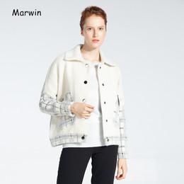$enCountryForm.capitalKeyWord NZ - Marwin New-Coming Plaid Turn-Down Collar Sleeveless Vest Batwing Sleeve Thick Women Jactets High Street Causal Style Female Coat