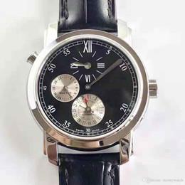 Опт Роскошный K11 завод 42005 двойной регулятор времени GMT 39 мм V-C.1206 автомобильные 9015 движение мужские часы сапфировое стекло бизнес часы