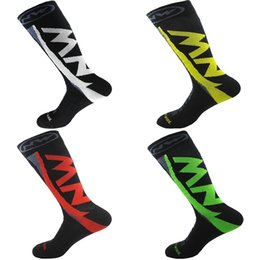 Wholesale 2019 Team Cycling Socks Professional Bike Socks Colors High Tube Thick Warm Bicycle