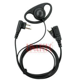 2 PINOS grande microfone PTT motorola GP88 GP300 GP2000 CT150 P040 rádio fone de ouvido interfone fone de ouvido walkie talkie fone de ouvido venda por atacado