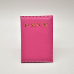 passport ticket case Australia - 2018 NEW Fashion Women Leather Passport Cover 6 Colors Travel Tickets Passport Case High Quality Holder