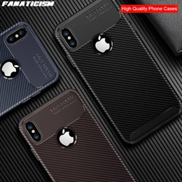 $enCountryForm.capitalKeyWord Australia - Phone Cover For iphone XR X XS Max Carbon Fiber Shockproof Soft TPU Silicone Case For iphone SE 5 6 7 8 plus